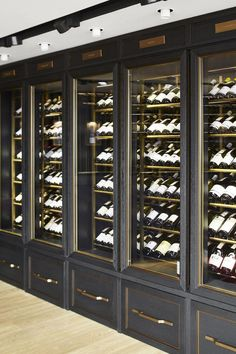 Smallbone Of Devizes Technical Wine Wall To Display Wine