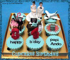 HONEY CAKES: Cupcakes Set For Husband