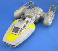 """The Y-Wing fighter, from Kenner's original """"Star Wars"""" toy line"""