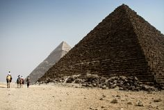 Giza Pyramids. I'd love to go there one day. Photo Copyright Alessandro Castellani