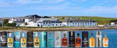 The Scottish Bruichladdich distillery on the Isle of Islay