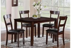 $295 Rio 5 Piece Dining Set