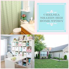 Two Twenty One shares her home story. Take  a look to see what #homeimprovement projects she's done and what projects she plans on doing next! http://blog.homes.com/2013/04/chelsea-shares-her-home-story/