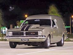 Holden panel van from Australia!