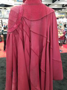 2018 Doctor Strange Red Cloak Cosplay Doctorr Strange Full Set Necklace Ring New