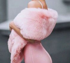 There are 2 tips to buy coat, pink, fur shawl, pink fluffy. Fur Fashion, Pink Fashion, Fashion Outfits, Pink Aesthetic, Aesthetic Clothes, Five Jeans, Vetement Fashion, Scarf Dress, Fashion Designer