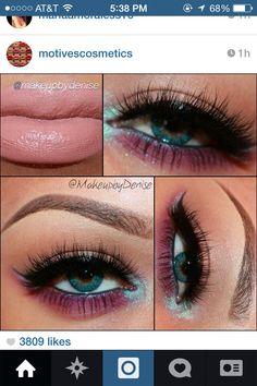 Purple&Teal eyeshadow