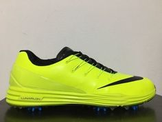 f7261df96f0 Nike Lunar Control 4 Golf Shoes Volt Black Photo Blue SZ 12  819037-700