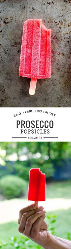 With only 4 ingredients, these raspberry Prosecco popsicles are as breezy as they are boozy. Perfect for summer. via @umamigirl