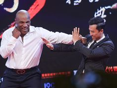Star Tracks: Tuesday, March 1, 2016 | TOTAL KNOCKOUT | Boxer Mike Tyson doesn't pull any punches as he goofs around with actor Donnie Yen at the Beijing premiere of Ip Man 3 on Tuesday.