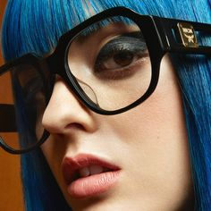 489168338ff Stand out with bold frames. This vintage inspired style by  MCMEyewear is  characterized by