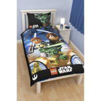 PARURE DE COUETTE LEGO STAR WARS - Parure de lit Galaxy 135 x 200 cm