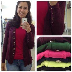 cardigans coloridos é aqui na @adorokadini! venham conferir! #adorokadini #kadini #modafeminina #moda #paramulher #euquero