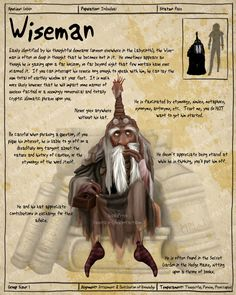 Labyrinth Guide - Wiseman  by =Chaotica-I  Fan Art / Digital Art / Painting & Airbrushing / Movies & TV	©2011-2012 =Chaotica-I