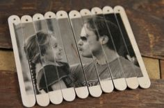 Photo stick puzzle. Easy to pack, good to kill time in a restaurant with the kids. by dollie