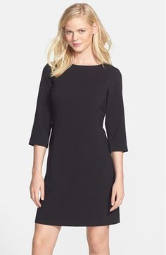 Eliza J Knit Shift Dress (Regular & Petite) available at #Nordstrom