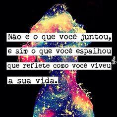 """@instabynina's photo: """"Bom dia! Pense nisso! Inspiração da @papeletudo #autordesconhecido #citações #vida #frases #instabynina"""""""