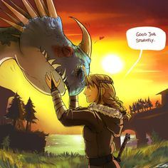how to train your dragon fan art | How to train your Dragon