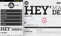 Daren Keskin  Media Queries+HTML5