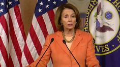 Pelosi Responds to Trump Over Photo of Her with Russian Ambassador: Wasn't 'Secret' Meeting  -  March 3, 2017:        House Minory Leader Nancy Pelosi has responded to President Trump 's tweet taking a shot at her for a photo of her with the Russian ambassador at the center of the Jeff Sessions controversy.
