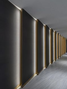 Sybarite designs a million-sq-ft luxury retail destination in China's oldest city - sandra pins Corridor Design, Entrance Design, Hall Design, Garage Design, Corporate Interior Design, Corporate Interiors, Office Interiors, Lobby Interior, Interior Lighting
