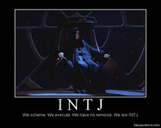 Repinning this because the INTJ supervillain stereotype amuses me.