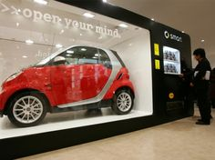 Smart Car vending Machine in Japan.