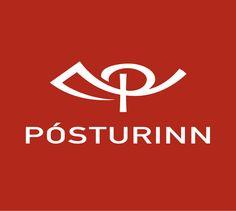 #Iceland #post #logo