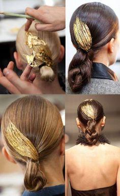 <3 #gold #fashion #makeup