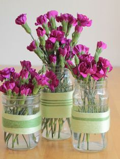 10 Crazy Clever Uses For Mason Jars  GREAT IDEA   Save Money buy Large Containers of soap or Hand & Body Lotions and transfer to these cute smaller containers for Sinks or Dressers or with whatever for where ever. I bet you can come up with hundreds of more ideas