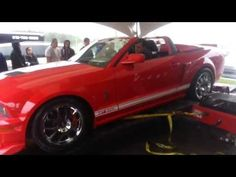 DYNO EPIC FAIL: Shelby GT500 destroys dynomometer...au QUÉBEC! Original Video!