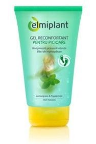 Elmiplant Cooling Gel For Legs Sparkling Ice, Shampoo, Legs, Bottle, Places, Flask, Lugares