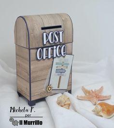 Una cassetta della posta per tornare indietro nel tempo e raccogliere i ricordi legati al mare... Carte Carta Bella By The Sea, progetto di Michela Favalli Mailbox, Bella, Lego, Decorative Boxes, Mail Drop Box, Post Box, Legos, Decorative Storage Boxes