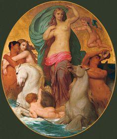 Venus Triumphant- William Adolphe Bouguereau (1825 – 1905, French)