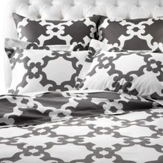 Montecito Bedding - Grey from Z Gallerie