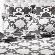 Montecito Bedding - Grey from Z Gallerie