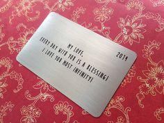 Custom Metal Wallet Cardcopper Wallet Insertwallet Card