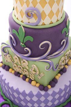 mardi gras cakes | Mardi Gras Cake