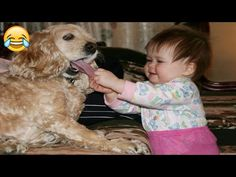 Funny Dogs And Babies - Best Friends Forever So Cute Baby, Cute Kids, N Animals, Animals For Kids, Cute Animals, Funny Babies, Funny Dogs, Cute Babies, Funny Baby Pictures