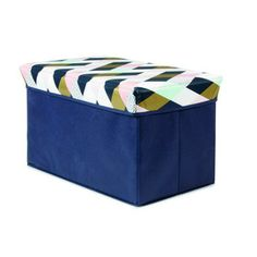 Collapsible Storage Cube - Harlequin