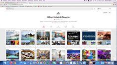 Hilton geeft mooie foto's weer van hun hotels en omgevingen. Mensen kunnen vervolgens deze beelden pinnen en dit zorgt voor een beter imago en ook stijgt hun naambekendheid hier nog extra mee. https://nl.pinterest.com/hiltonhotels/)