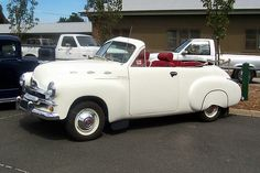 FJ HOLDEN 2dr Convertable. This vehicle was never factory made like this.