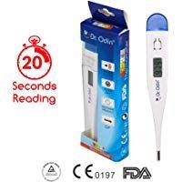 Dr Odin Digital Medical Thermometer Blue Dr Odin Digital Medical