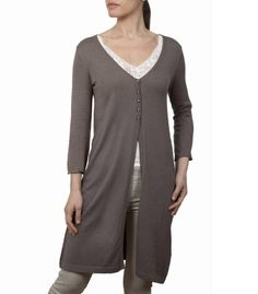 Wool you be mine? New Season shapes and colours on sale today. V Neck Cardigan, Long Cardigan, Cotton Silk, Cardigans For Women, Taupe, Tunic Tops, Lady, Sweaters, Inspiration