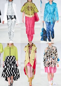 Graduate Fashion Week 2014   Catwalk Print & Pattern Highlights catwalks