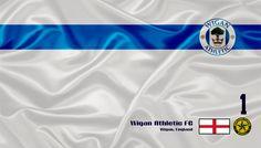 Wigan Athletic FC - Veja mais Wallpapers e baixe de graça em nosso Blog http://soccerflags.blogspot.com.br