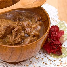 Gulasz / Goulash Polish Way - with Stew Beef _ (Click on Pic for Recipe)