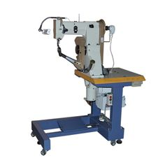 side wall stitching machine 1. Suitable for sports shoes, casual shoes side seam locking type sideline processing.  2. All parts were manufactured by HAAS CNC machines, high precision machining parts.  3. Using electronic speed motor speed can be flexible, stop the needle position by computer control.