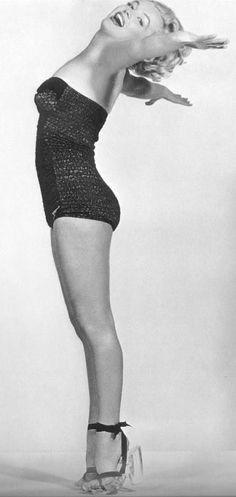 Marilyn Monroe Photographies de Frank Powolny film Love Nest,1951