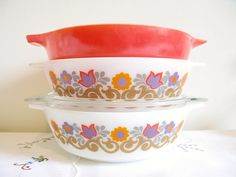 JAJ Pyrex (English) Patterns